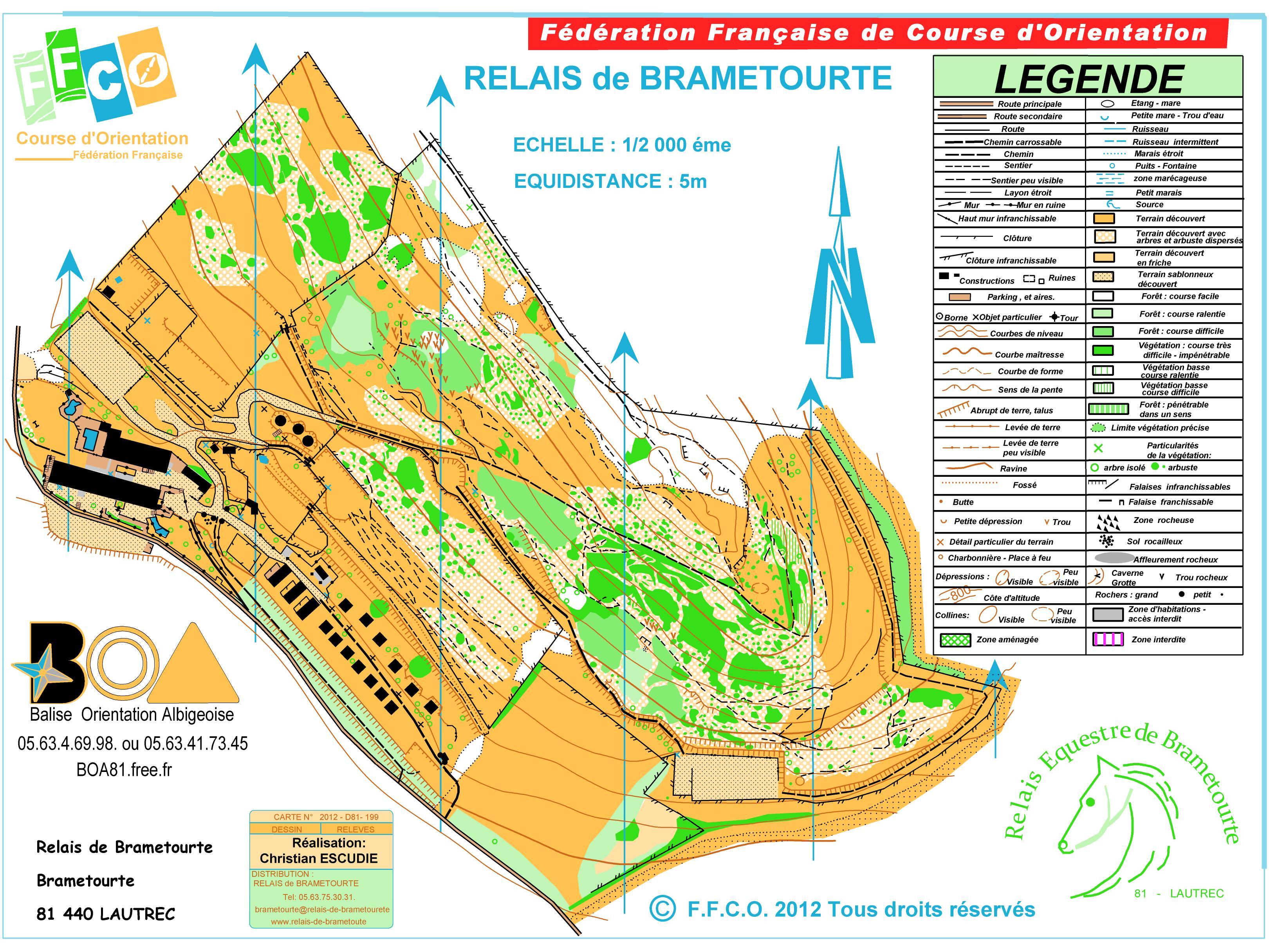 Course D Orientation Dans Tarn Midi Pyr 233 N 233 Es Relais